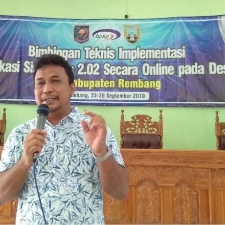 Desa Karangasem Kec.Sedan Siap Implementasikan Sistem Keuangan Desa (SISKEUDES) Berbasis Online